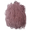 Seedbead Opaque Brown Luster 11/0 Strung